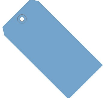 Dark Blue Colored Tags - Shipping Tags - 1000 Count
