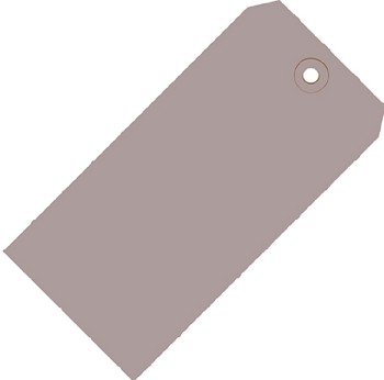 Gray Colored Tags - Shipping Tags