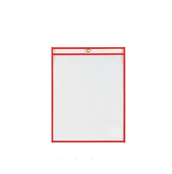 Shop Ticket Holders - 11 Inch x 14 Inch - Red - 25 Ct.
