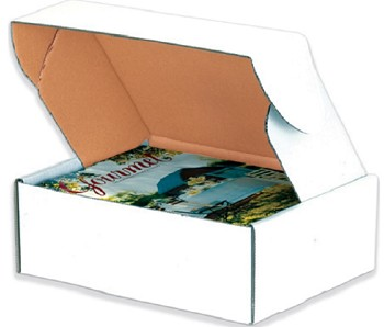 Deluxe Literature Mailers - White - 14 x 10 x 3 50 Ct.