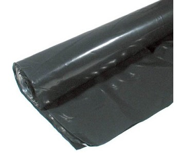 Black Poly Sheeting - 6 x 100 - 6 Mil -CF606B