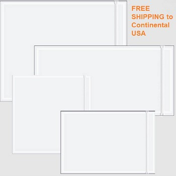 Clear Face Resealable Document Envelopes 8 x 10 - 500 Ct
