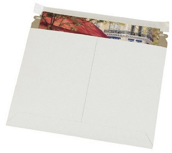 White Flat Utility Mailers Recycled - 8 x 6 - 200 Ct - RMU86W
