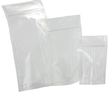 Clear Stand Up Pouches w/ Zip Lock  16oz | STP-16Z-400B | 250 Count