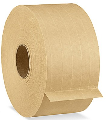 Central Reinforced Tape 250 - 3 in. x 375 ft. - Kraft