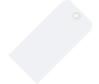 White Colored Tags - Shipping Tags - 1000 Count