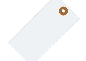 White Tyvek Shipping Inventory Parts ID Tags
