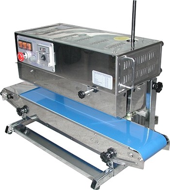 AIE-882BSL - Vertical Band Sealer - Right to Left