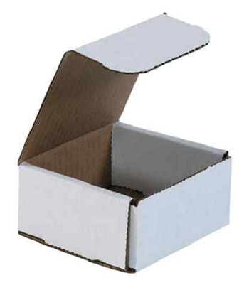 White Corrugated Mailer Boxes